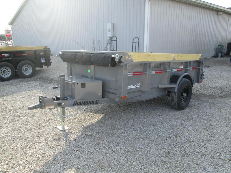 2021 10x60 5K Diamond C  Dump Trailer. 38818