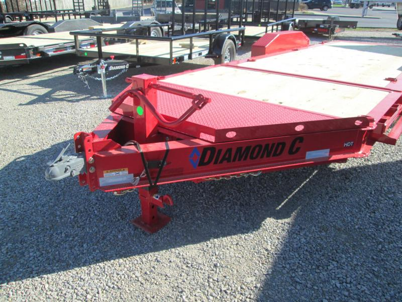 2021 Diamond C Trailers HDT207 Equipment Trailer