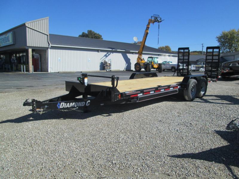 2021 Diamond C EQT207 Equipment Trailer. 35578