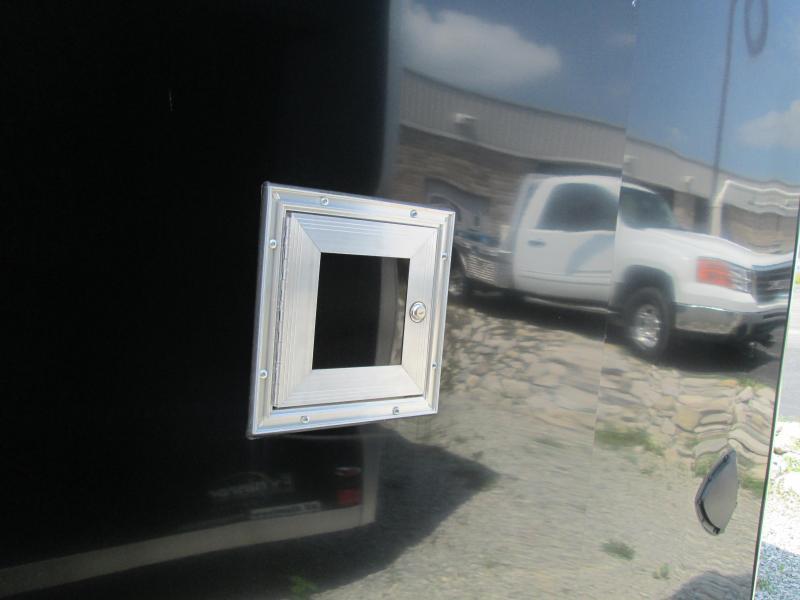 2020 LEGEND 7.5x24'+5' V-nose 10K Power Sports Enclosed Trailer. 17833