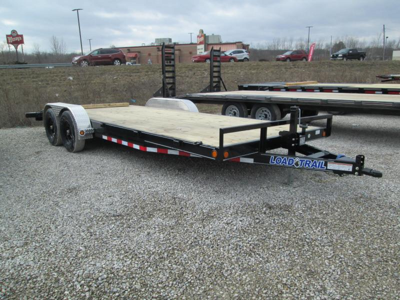 2021 18'+2' 10k Load Trail Carhauler with slide-in ramps. 20837