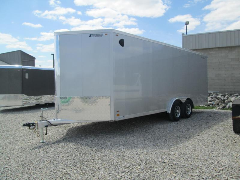 2022 8x20+V-Nose 10K Legend FTV Enclosed Cargo Trailer. 17703