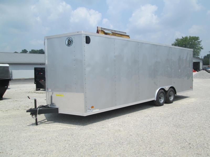 2022 8.5x24 10K Darkhorse Enclosed Cargo Trailer. 103640