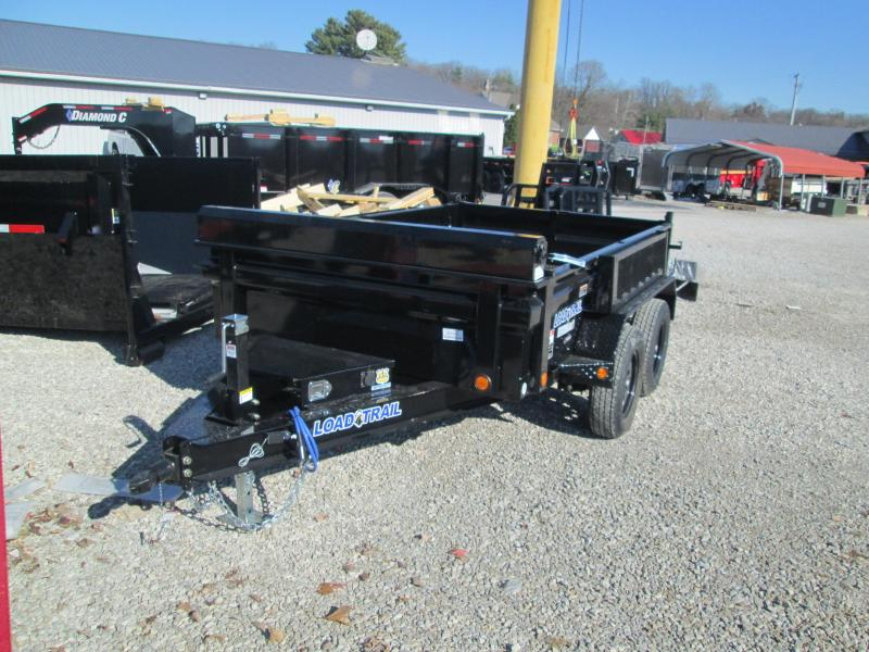 "2021 72""x10' Load Trail Dump Trailer. 21221"