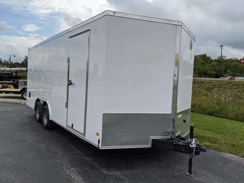 2022 8.5x20 10K Darkhorse Enclosed Cargo Trailer. 108540