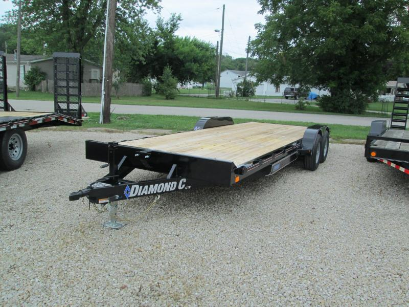 2020 20+2x82 10K Diamond C GTF252 Car Trailer. 30922