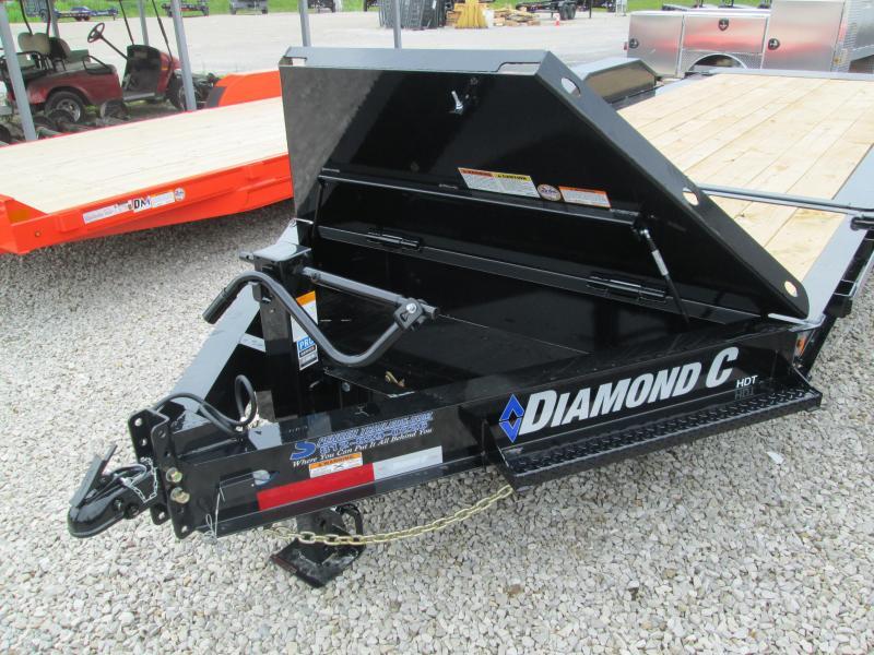 """2021 16'+4'x82"""" 14.9K Diamond C HDT207 Equipment Trailer. 47041"""