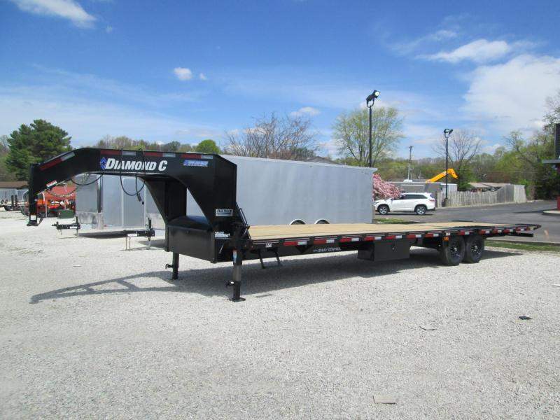 "2021 20'+12'x102"" 15.5K Diamond C FMAX207 Equipment Trailer. 43900"