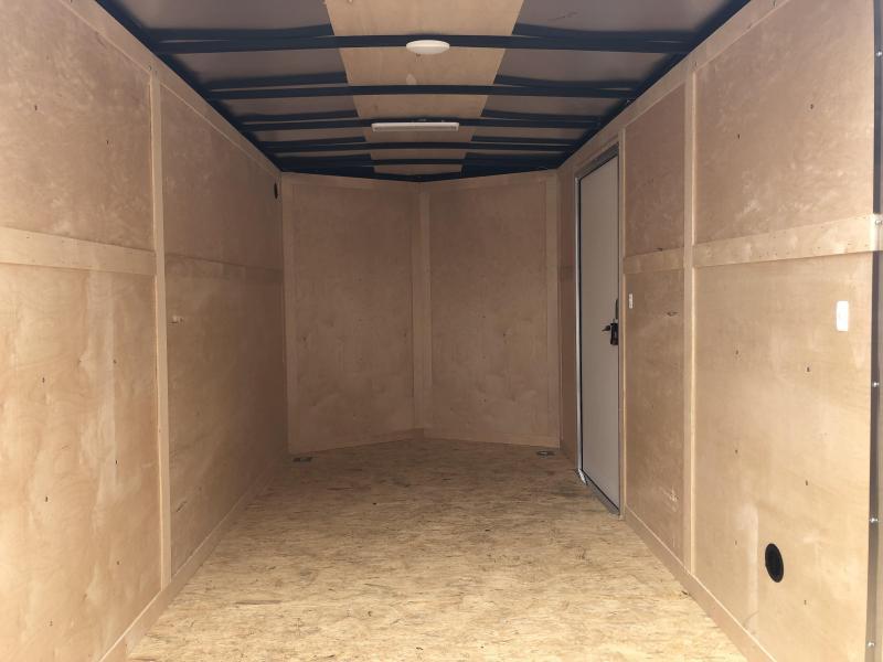 2022 6.5x12 Darkhorse DHW Enclosed Cargo Trailer. 104338