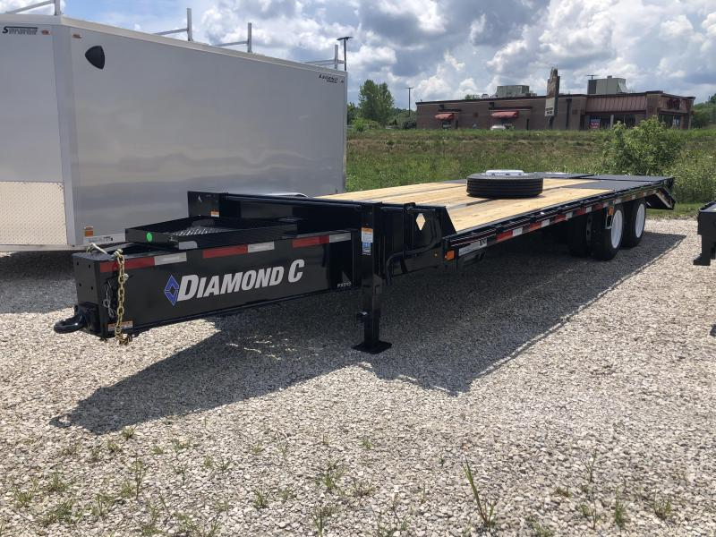 "2020 20'+5'x102"" 25.9K Diamond C PX212 Pintle Equipment Trailer. 31510"