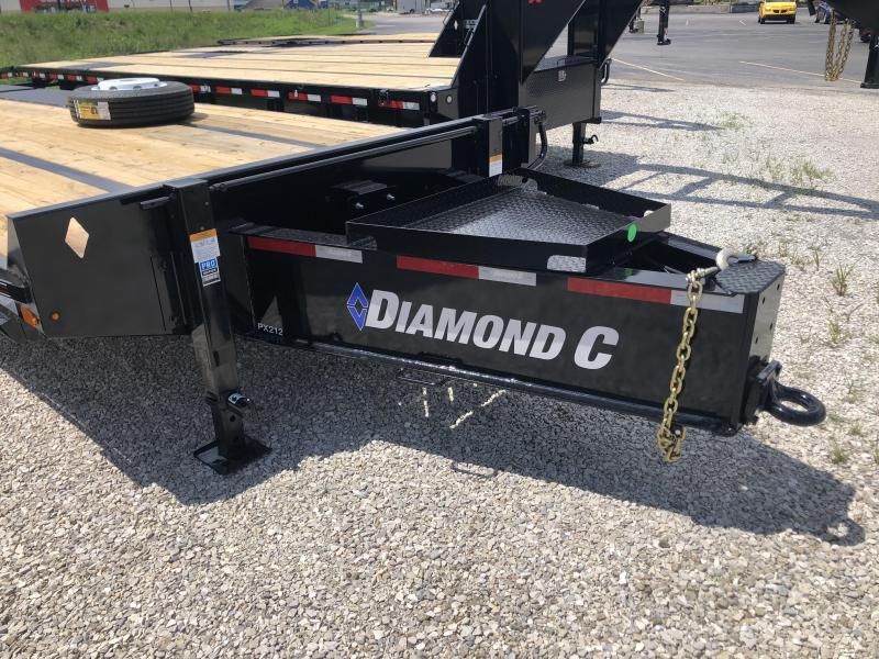 "2020 20'+5'x102"" 25.9K Diamond C PX212 Pintle Equipment Trailer. 31510"