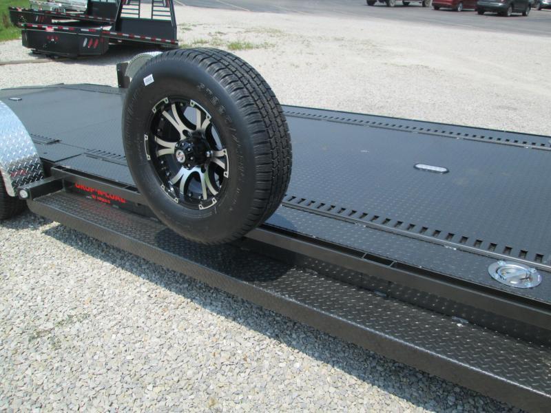 "2021 24'x80"" 10K MAXXD Drop-N-Load Car Trailer. 84663"