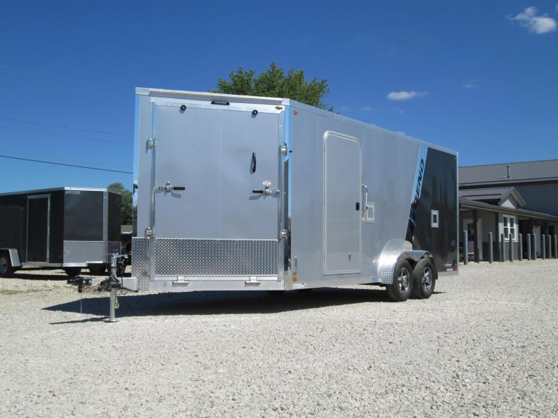 2021 Legend 7.5X23 Explorer Enclosed Cargo Trailer. 17261