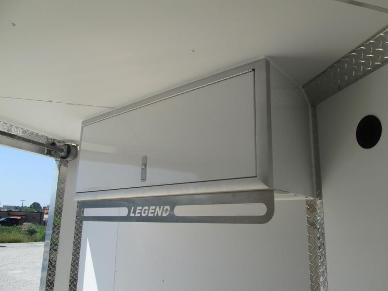 2021 Legend 7.5X23 Explorer Enclosed Cargo Trailer. 17261