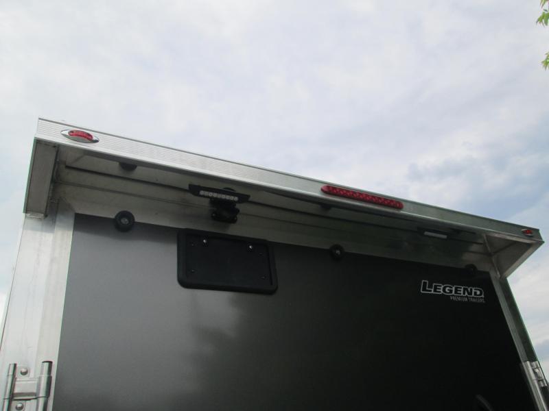 2022 7.5' x 14'+V 7K Legend Thunder V-Nose Enclosed Cargo Trailer. 17330