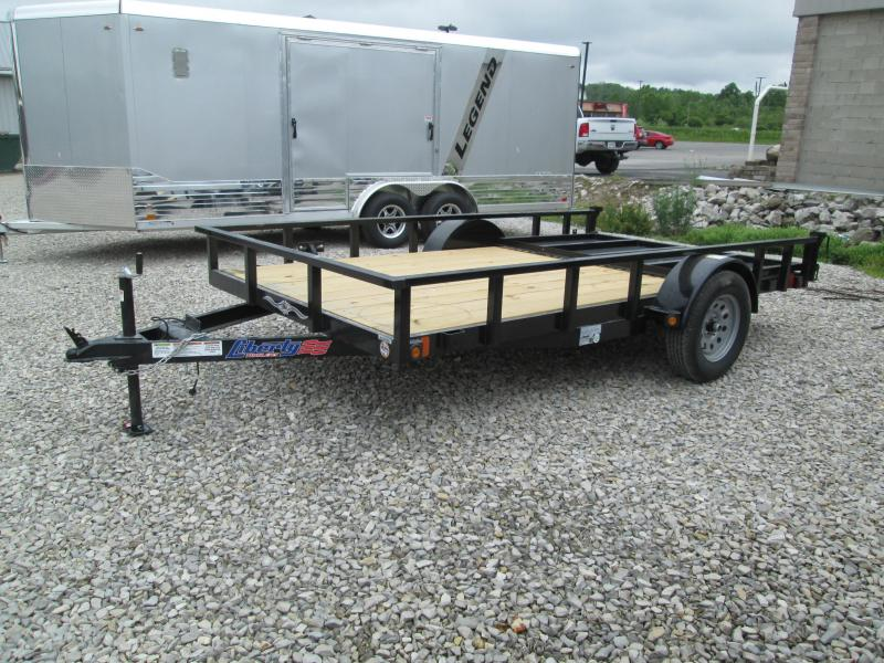 2021 78x12 Liberty Utility Trailer. 32243
