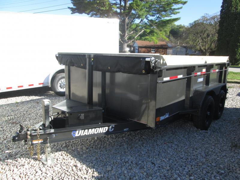 2022 12x77 10K Diamond C MDT206 Dump Trailer. 51742