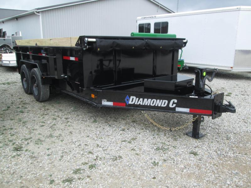 2022 14x81 14.9K Diamond C LPD208 Dump Trailer. 52790