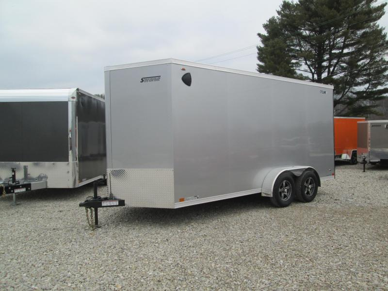 2021 7x16+V-nose Legend STV Cyclone Enclosed Cargo Trailer. 17999