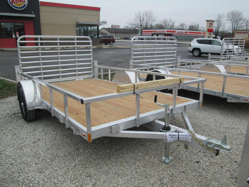2021 7x12 Legend Open Aluminum Utility Trailer. 17637