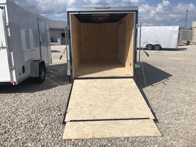 2021 6x12 Darkhorse Enclosed Cargo Trailer. 00956