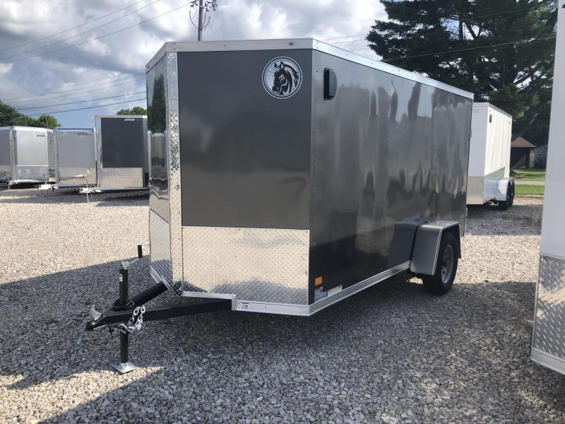 2021 6x12 Darkhorse Enclosed Cargo Trailer. 00956