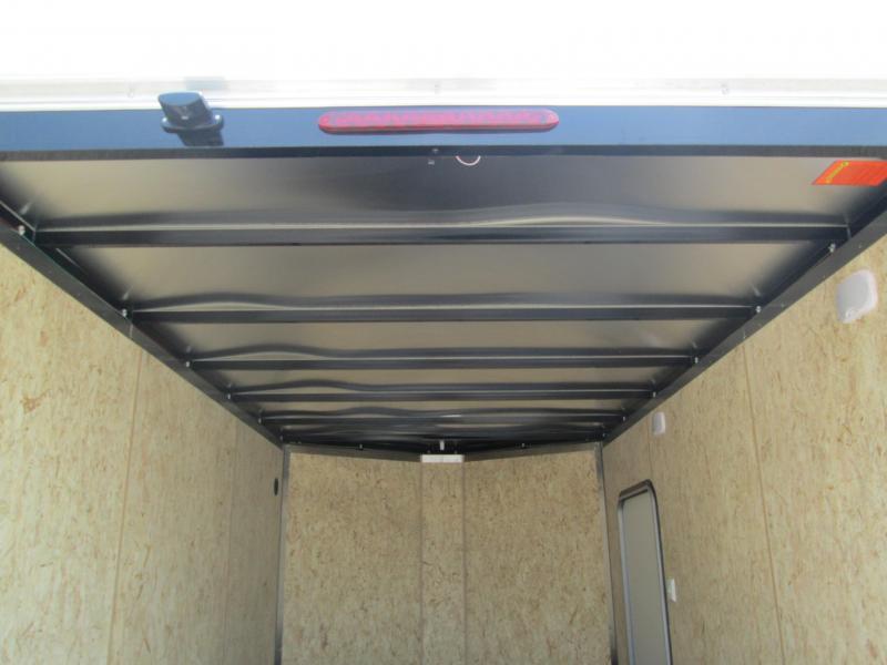2021 7x12 7K Legend Cyclone Enclosed Cargo Trailer. 17291