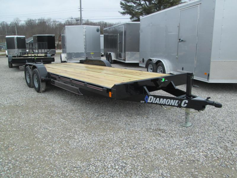 "2021 20'+2'x82"" 10K Diamond C GTF252 Equipment Trailer. 41832"