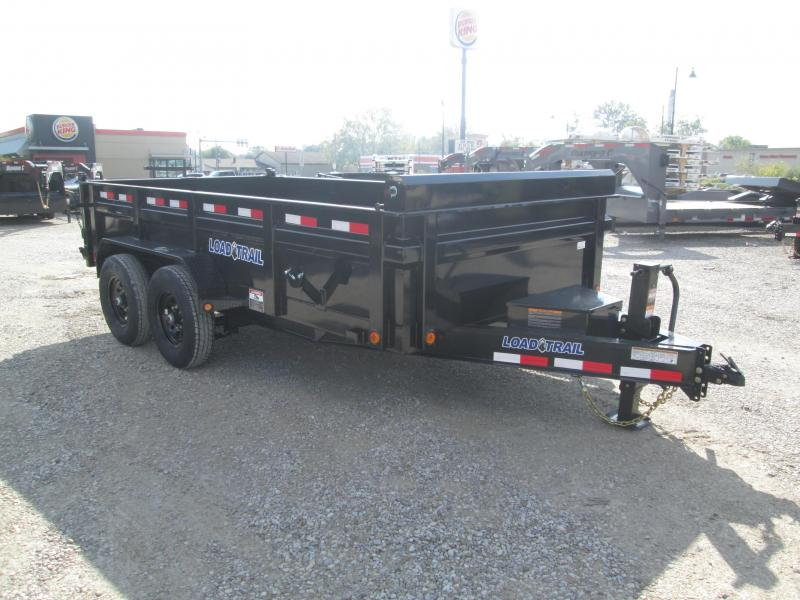 2022 83x14 14k Load Trail DT8314 Dump Trailer. 51653