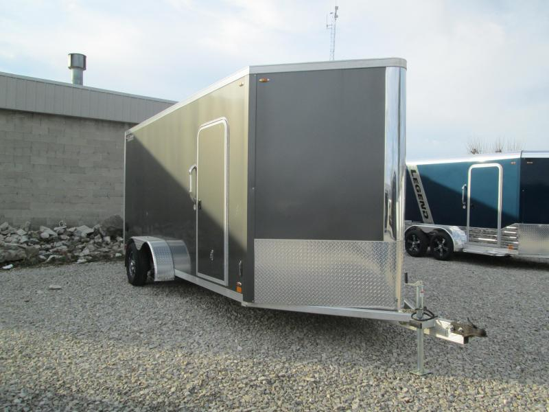 2020 7x16+V-Nose Legend FTV Enclosed Cargo Trailer. 17818