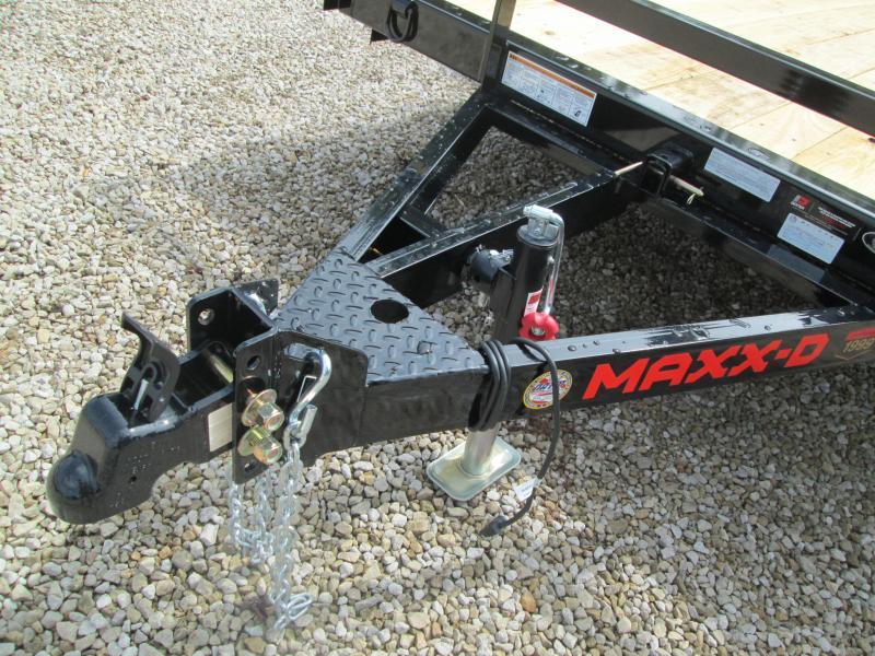 2021 12x77 MAXXD Utility Trailer. 74458