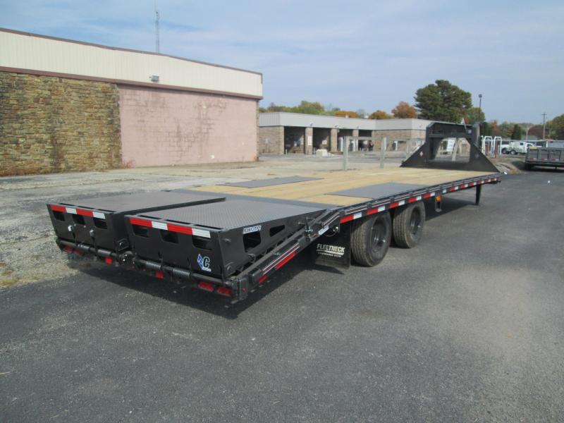 "2021 FMAX 210MR 25'+5'x102"" 25K Diamond C Engineered Beam Equipment Trailer. 35154"