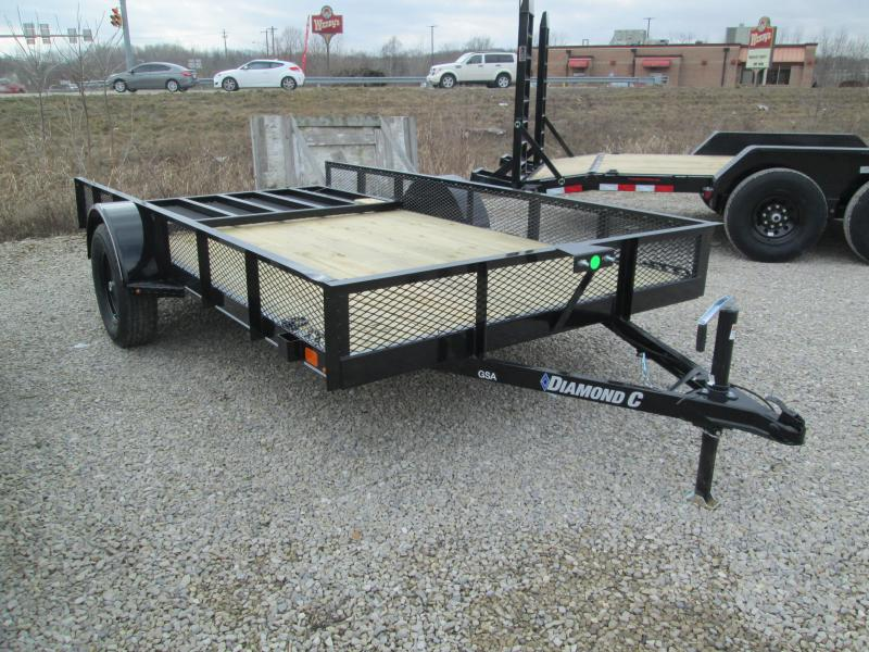 2021 12x77 Diamond C GSA135 Utility Trailer. 41311