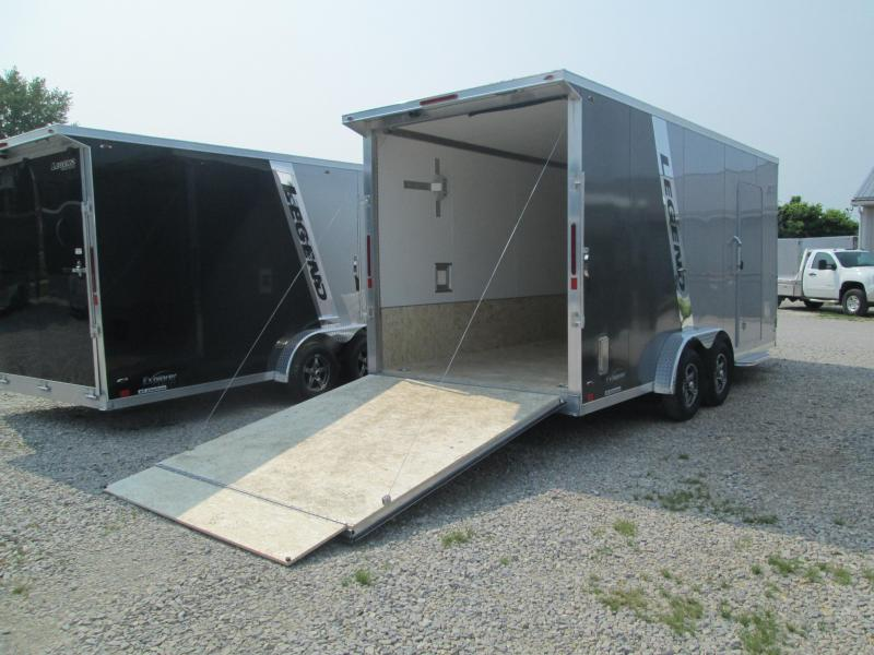 2022 7.5x23 7K Legend Explorer Enclosed Cargo Trailer. 317468