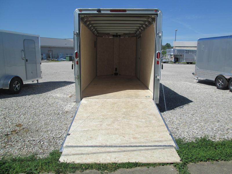 2022 7x16+V-Nose 7K Legend DVN Enclosed Cargo Trailer. 17707