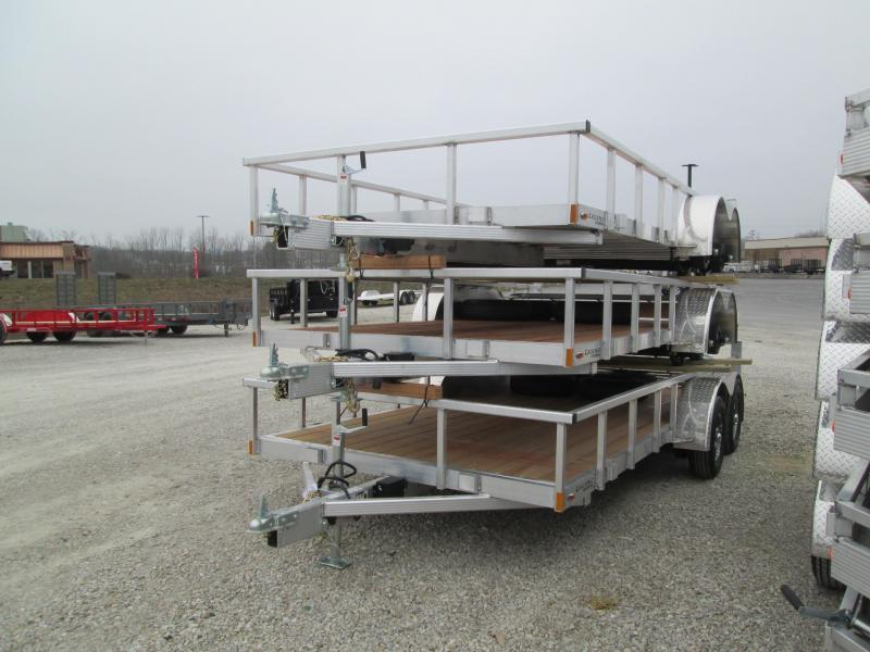 2021 Legend 7X16 Open Deluxe Utility Trailer. 17924
