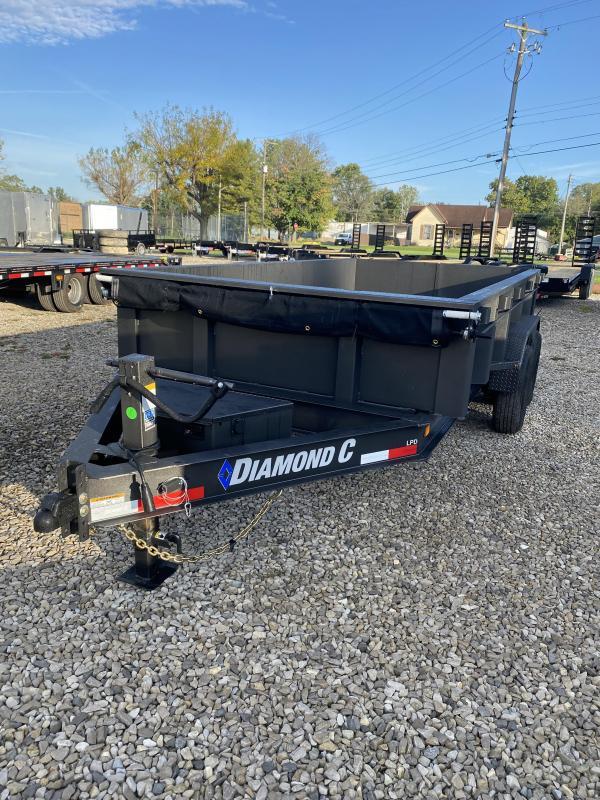2022 14x82 14.9K Diamond C LPD207 Dump Trailer. 52792