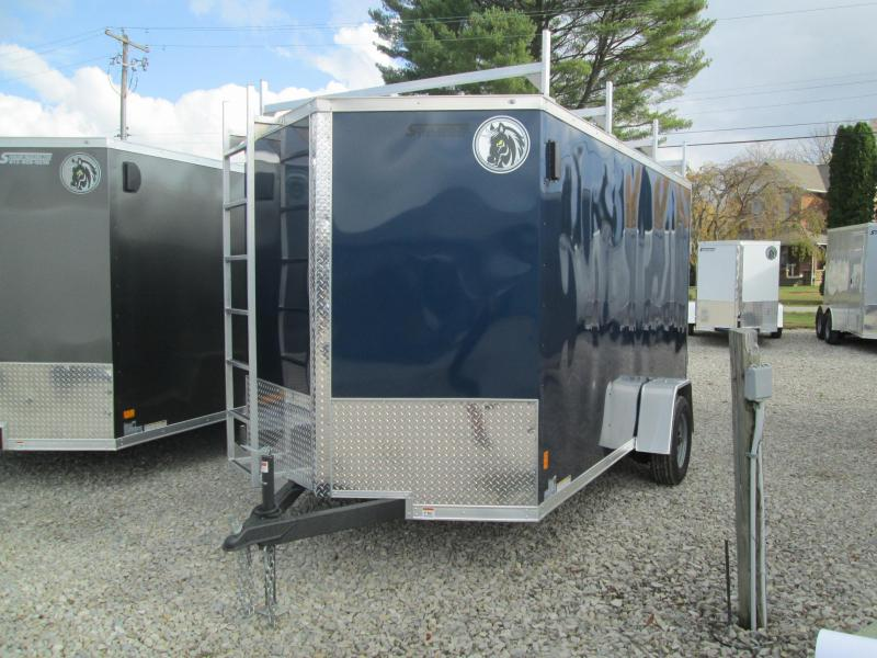 2021 6.5x12 Darkhorse Enclosed Cargo Trailer. 1961