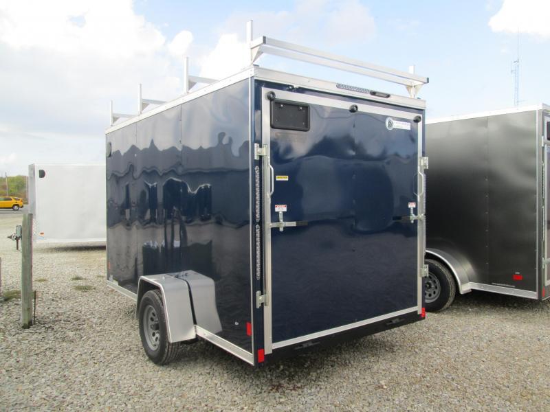 2021 6.5x12 Darkhorse Enclosed Cargo Trailer. 1961
