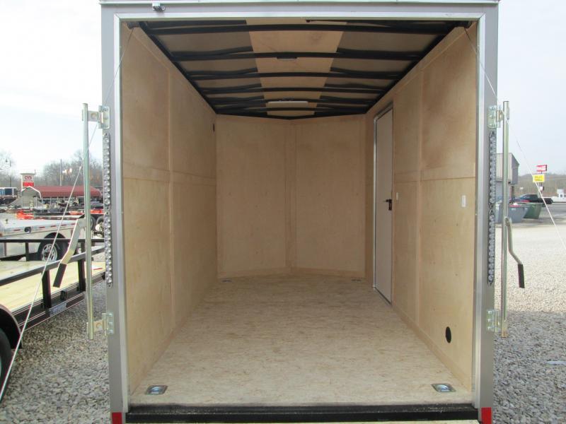 2021 6.5x12 Darkhorse Cargo with rear ramp door. 02939