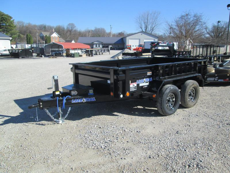 "2021 72""x10' Load Trail Dump Trailer. 21220"