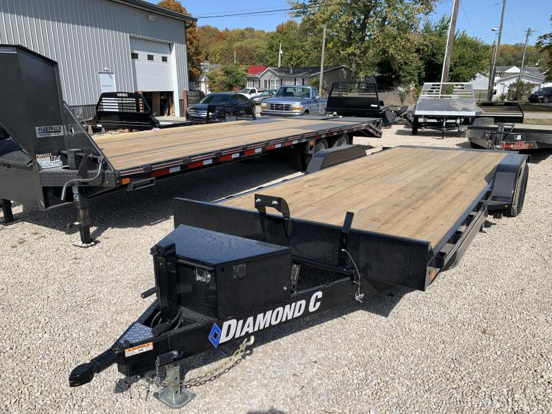 2021 Diamond C Trailers GTF Car / Racing Trailer