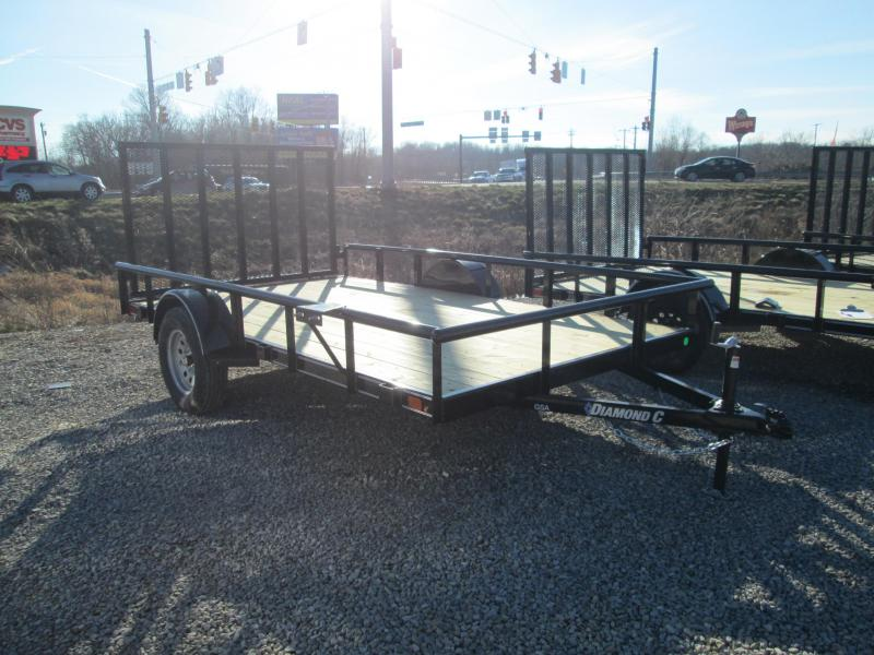 2021 12x77 Diamond C GSA135 Utility Trailer. 40884