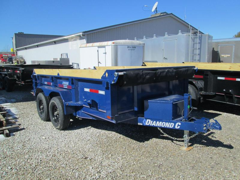 2021 12x77 10K Diamond C EDM252 Dump Trailer. 41997