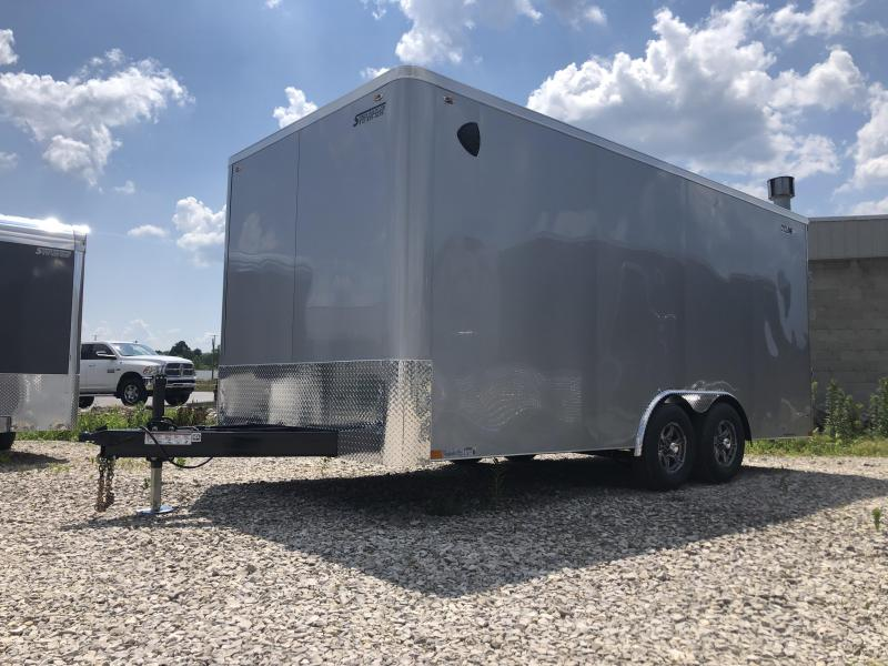 2021 8.5x18 10K Legend STF Enclosed Trailer. 17656