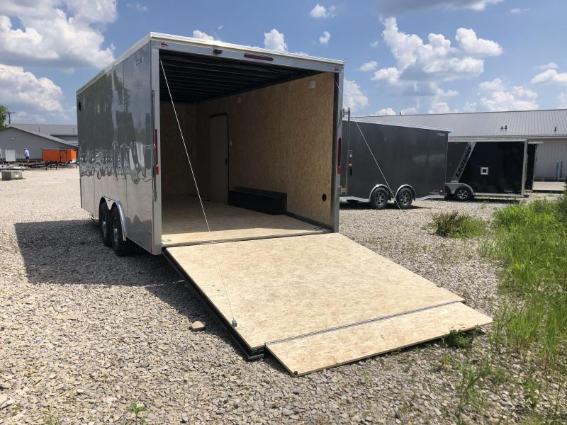 2021 LEGEND 8.5x18 10K STF Enclosed Trailer. 17656