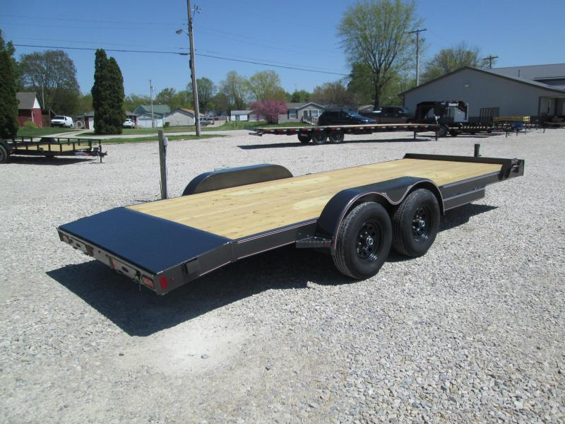 2021 18+2x82 10K Diamond C GTF252 Equipment Trailer. 46504