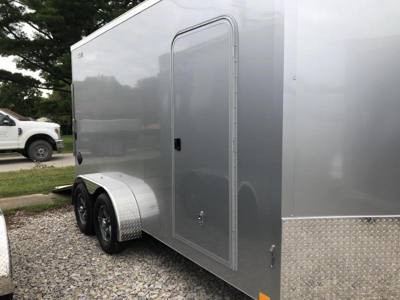 2021 7x14+V-Nose 7K Legend Cyclone Enclosed Cargo Trailer. 17111