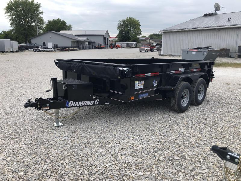 2020 12x82 10K Diamond C EDM252 Dump Trailer. 33069