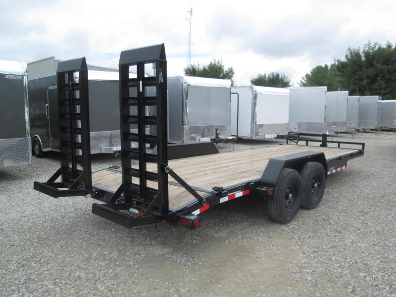 "2022 20'+2'x83"" 14K Load Trail  Equipment Trailer. 45241"